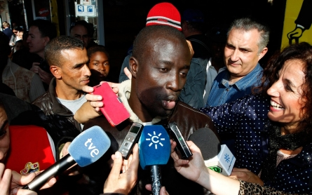 African migrants win in Spain's Christmas lottery