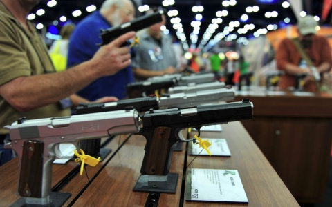 Thumbnail image for Gun companies lock up billions in sales, boosted by calls for tougher laws