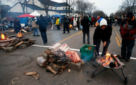 Minneapolis police disband protest camp erected over killing of black man