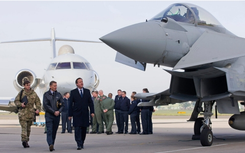 Thumbnail image for Europe joins Obama's air war in Syria as Arab partners quietly stand down