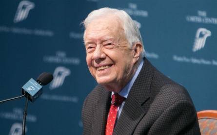 Jimmy Carter says most recent brain scan shows he is cancer-free