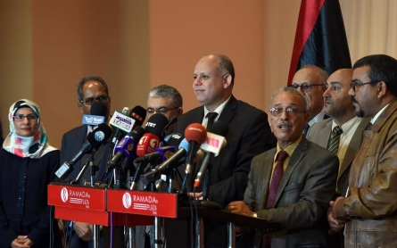 Libyan rivals sign proposal to end political crisis