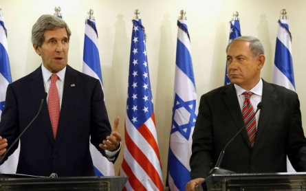 Netanyahu rejects Kerry's warning of Israel becoming binational state