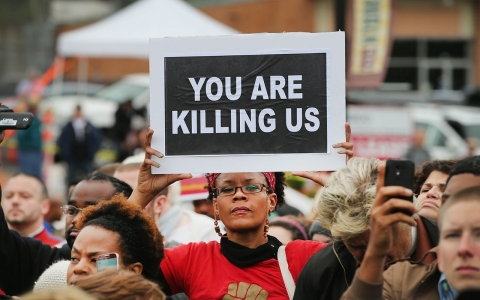 Thumbnail image for Activists demand comprehensive federal data on Americans killed by police