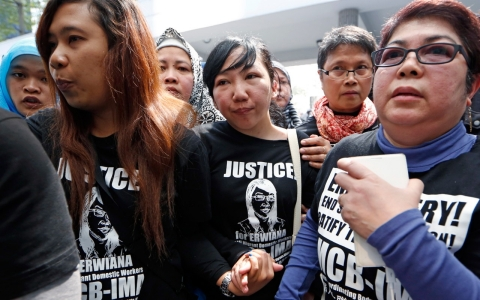 Thumbnail image for HK woman guilty of beating Indonesian maid