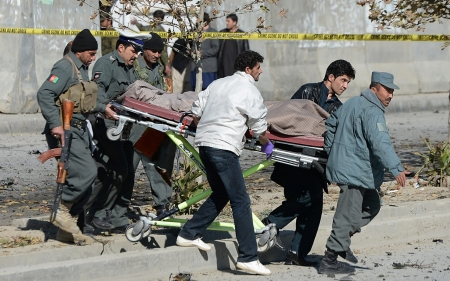UN: Afghanistan civilian casualties rise to highest level in five years