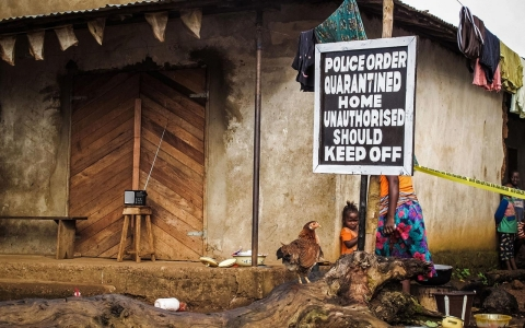 Thumbnail image for In Sierra Leone, quarantines without food threaten Ebola response