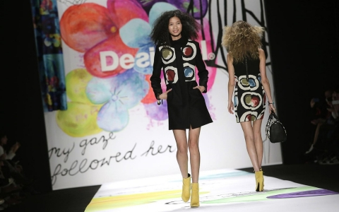 Desigual's Fall/Winter 2015 collection