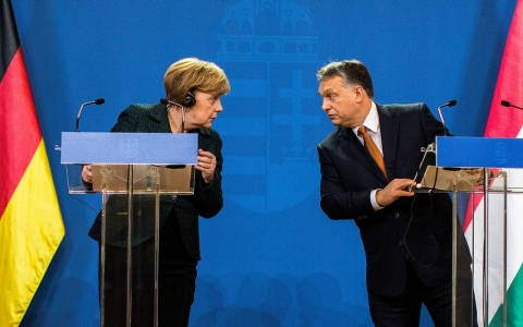 Thumbnail image for Merkel, on visit to Hungary, seeks to fend off Russian influence