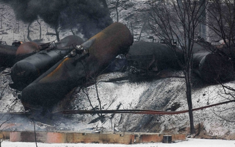Thumbnail image for Derailments of trains hauling fuel could kill hundreds, cost billions