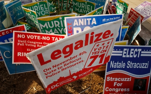 Thumbnail image for Washington, DC, legalizes recreational marijuana