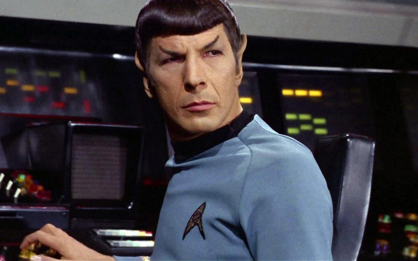 Leonard Nimoy Spock Star Trek's...