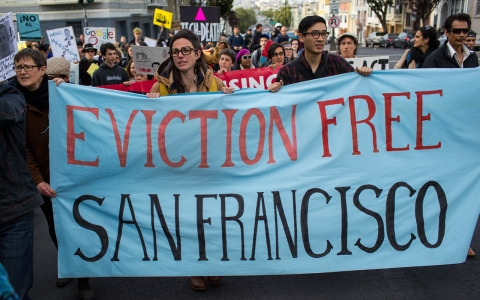 San Francisco affordable housing protest