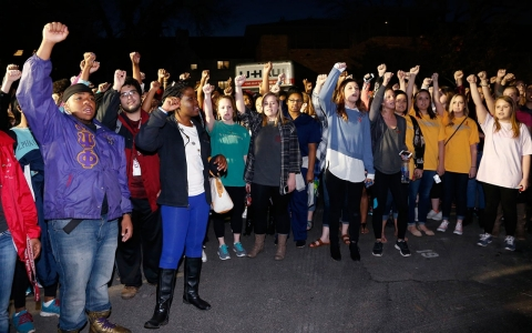 Thumbnail image for Oklahoma student who led racist chant to meet black leaders