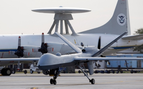 Thumbnail image for Rights group sues White House over Obama's drone 'kill list'