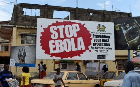 Thumbnail image for Sierra Leone enters 3-day lockdown in final push to stop Ebola