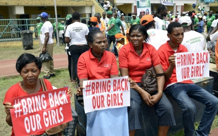 Chibok residents cheer Jonathan's exit, having voted for security
