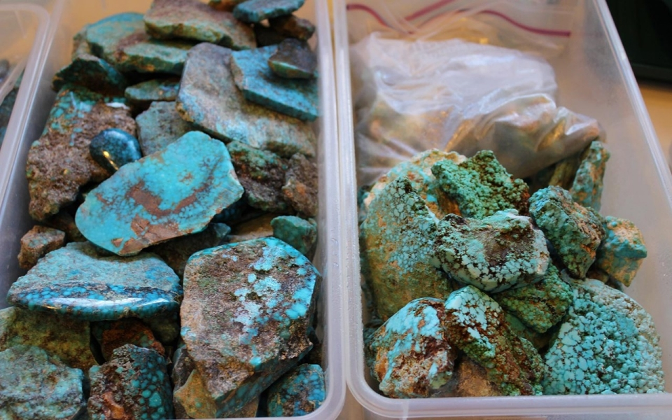 New Mexico State Gem Turquoise
