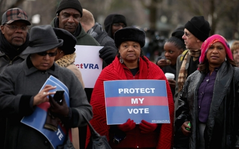 Thumbnail image for Stalled Voting Rights Act amendment leaves voters vulnerable, critics say