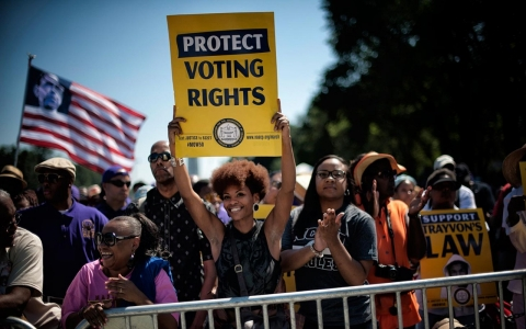 Thumbnail image for NC voting rights groups turn to education in fight against voter ID law