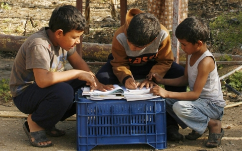 Thumbnail image for 'Lost generation' of 15 million children out of school in Middle East