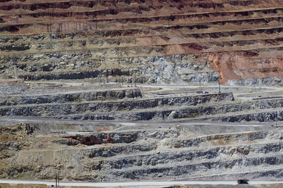 Cananea copper mine strike miners