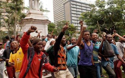 Thumbnail image for South Africans march against xenophobia, deadly attacks on foreigners