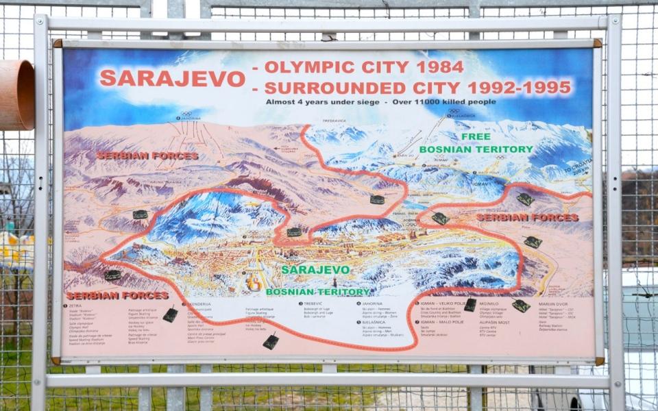 Turning Bosnian War Sites Into Tourist Attractions Al Jazeera - Where is sarajevo