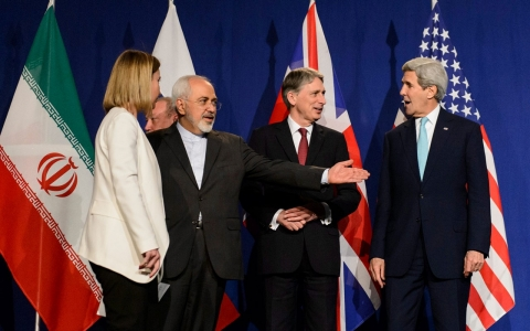Thumbnail image for Iran, world powers agree on deal framework after marathon nuclear talks