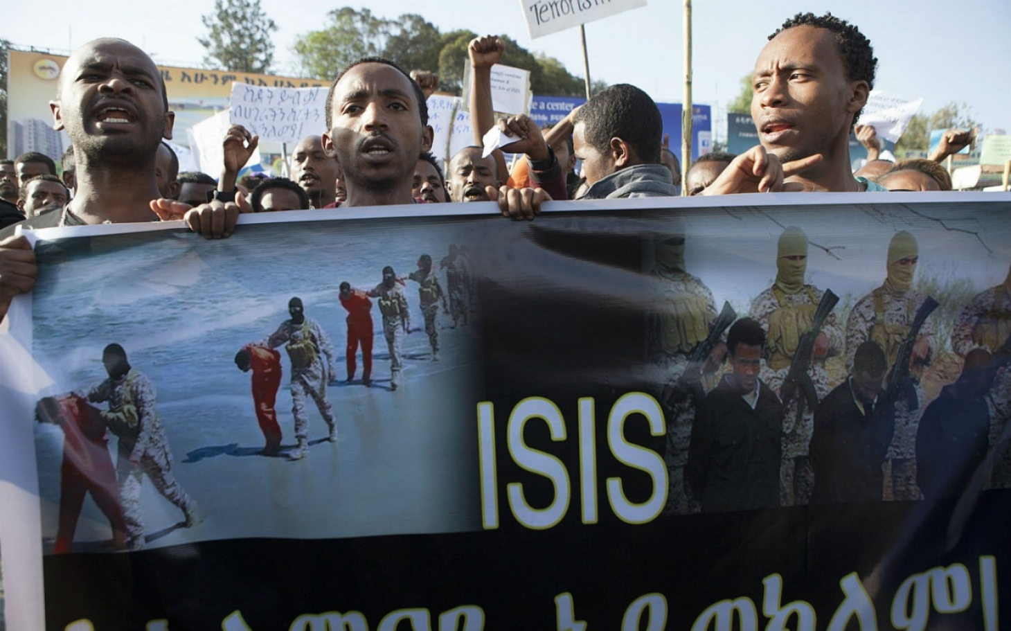 More Than 100,000 Ethiopians March Against ISIL | Al Jazeera America