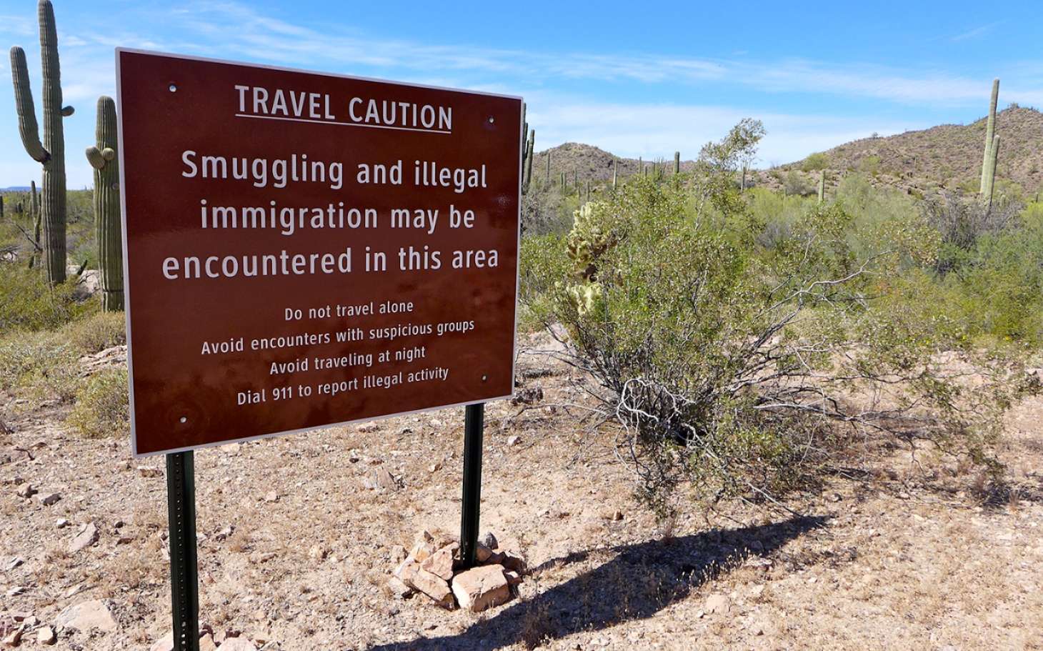 Arizona border park once deemed dangerous reopens al jazeera america publicscrutiny Image collections