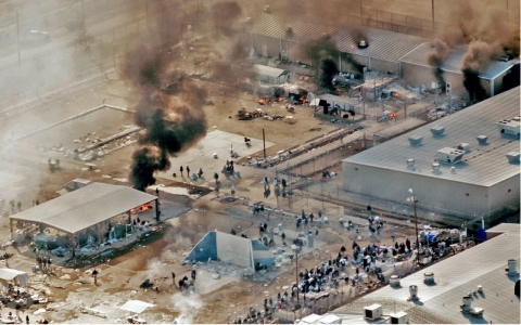Thumbnail image for DOJ report slams West Texas prison, scene of riots
