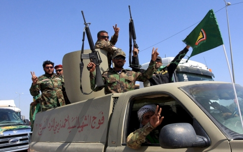 Thumbnail image for Shia fighters leave Tikrit after looting, say Iraq officials