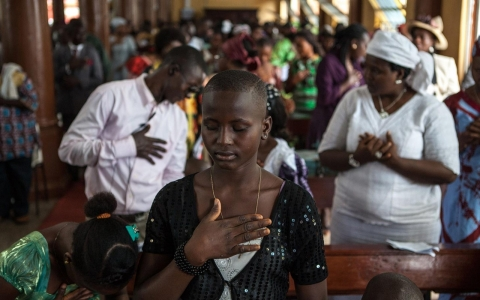 Thumbnail image for In Sierra Leone, religious leaders take on role in Ebola prevention