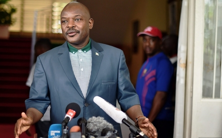 Emerging after failed coup, Burundi president warns of Shabab threat
