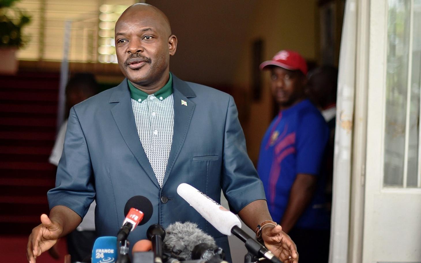Image result for burundi president