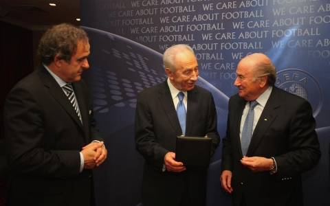 Thumbnail image for Can FIFA's Blatter prevent Israel's suspension from international soccer?