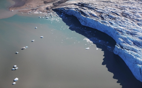 Thumbnail image for Greenland glacial melt is growing factor in rising sea levels