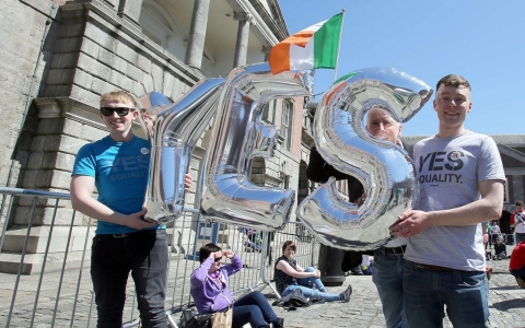 Thumbnail image for Irish voters approve same-sex marriage