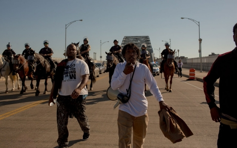 Thumbnail image for Protests, arrests follow acquittal of Cleveland police officer