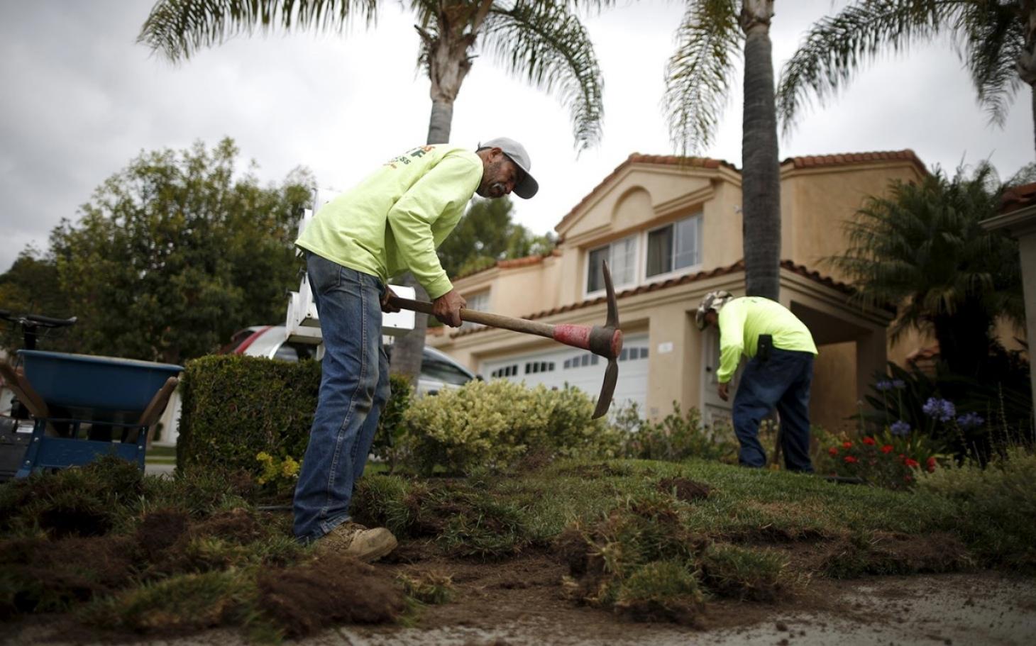 California Gardeners Lose Work During Drought Al Jazeera