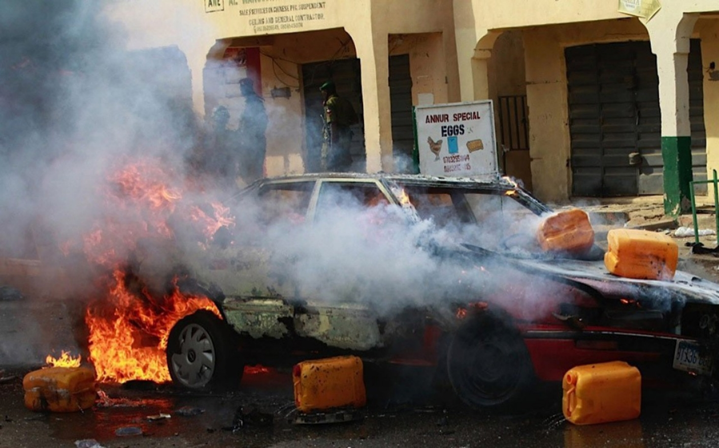 suicide bombings At least 50 people have been killed in a suicide bombing in the eastern nigerian state of adamawa, police say a bomber struck inside a mosque packed with worshippers during morning prayers.