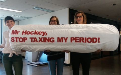 Thumbnail image for Australia moves to scrap tampon tax after campaign by student activists