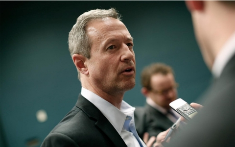 Thumbnail image for O'Malley, entering 2016 race, prepares to challenge Clinton from the left
