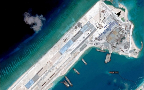 Thumbnail image for US says China has placed mobile artillery on reclaimed island
