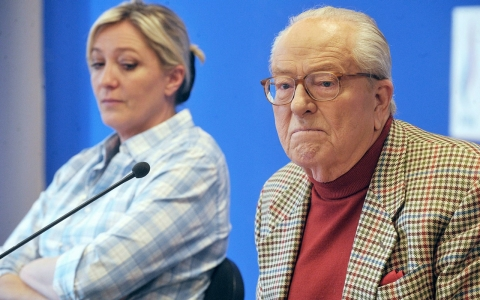 Thumbnail image for Jean-Marie Le Pen suspended from French far-right party over remarks