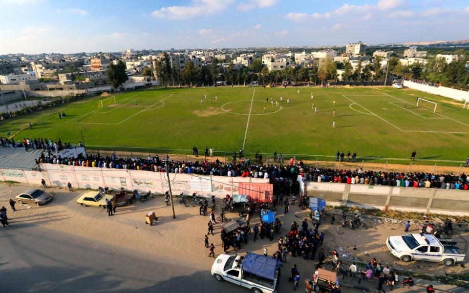 Gaza soccer