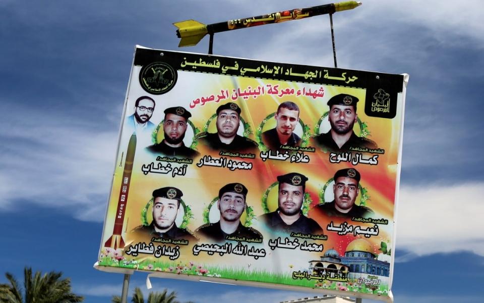 Islamic Jihad billboard