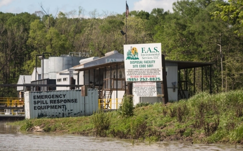 Atchafalaya Basin fracking