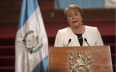 Thumbnail image for Chile's Bachelet asks ministers to resign